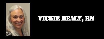 Vickie Healy, RN Logo